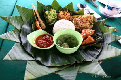 【峇里島旅遊|美食推薦】來去聖泉廟附近餐廳享受田園下午茶,Pangkon Bali