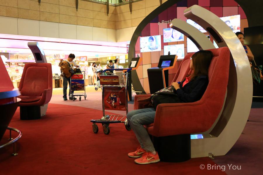 新加坡樟宜機場紅眼航班過夜睡覺航廈推薦