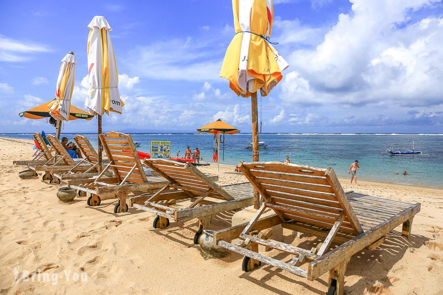 【峇里島海灘推薦】努沙杜瓦格格海灘Geger Beach Nusa Dua:人少安靜海景好去處、水上活動天堂