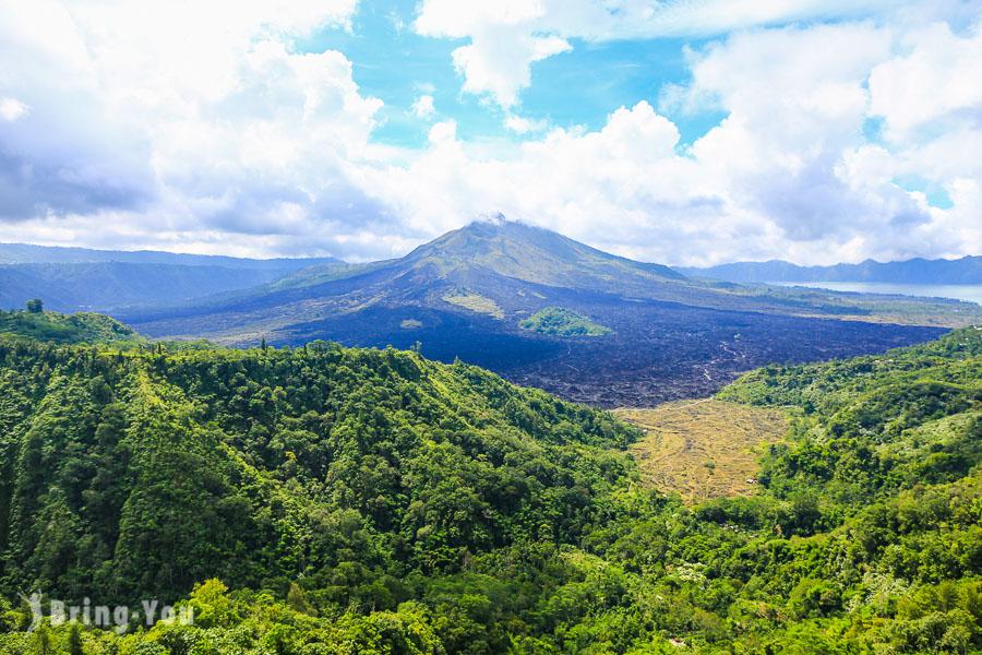 【峇里島景點】金塔馬尼遠眺巴杜爾火山Gunung Batur,令人心曠神怡的自然美景
