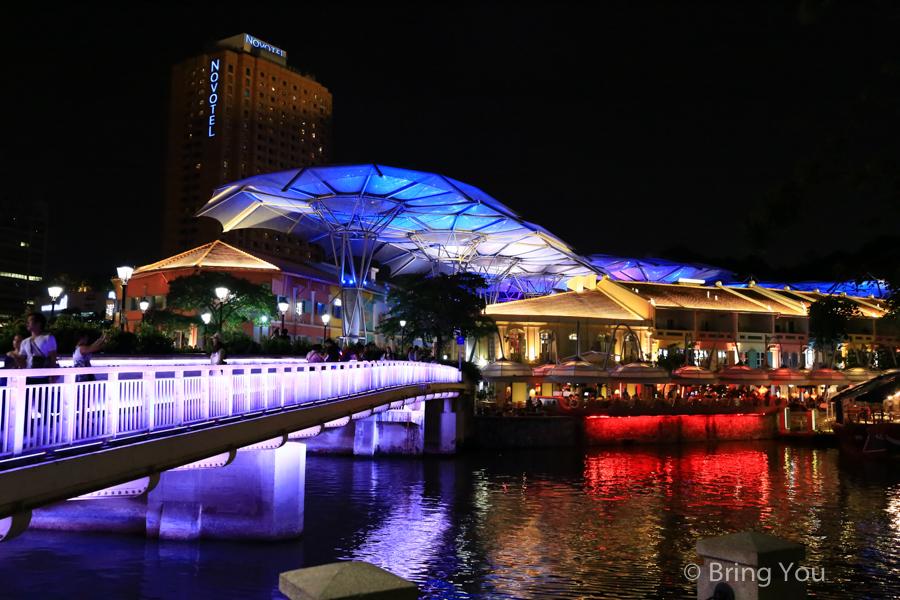 【克拉碼頭】新加坡夜景與體驗夜生活酒吧好去處,Clarke Quay周邊景點、美食、遊船、Gmax介紹