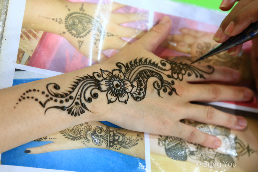 【印度超美人體彩繪】我的Henna彩繪學習筆記(Henna基本知識~圖案技巧)
