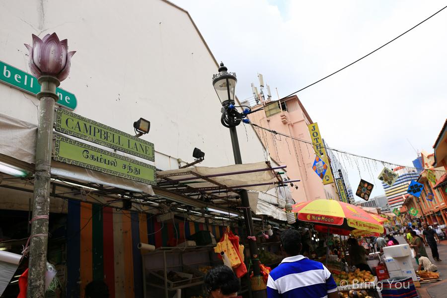 新加坡小印度甘貝爾巷