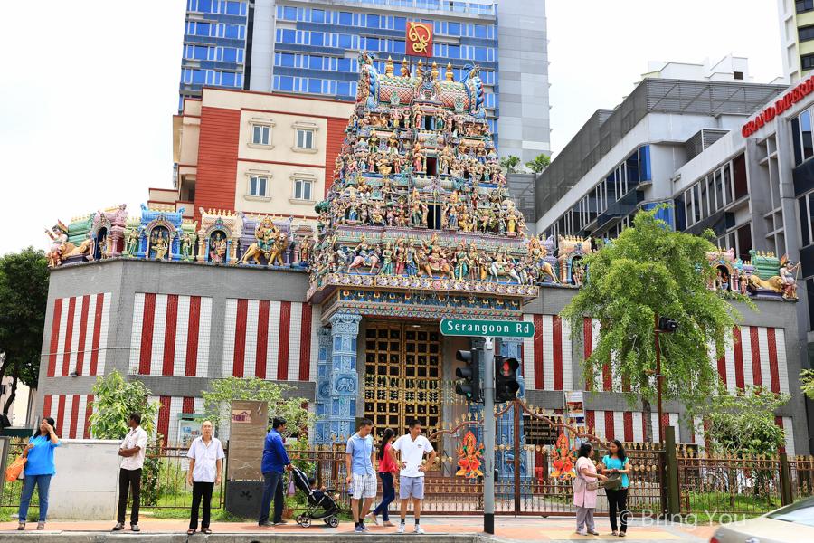 新加坡小印度維拉瑪卡里亞曼興都廟