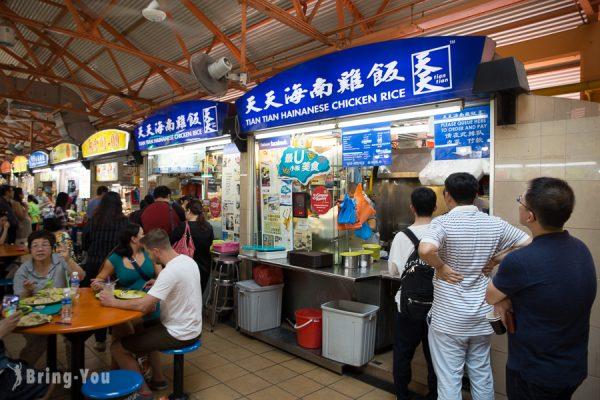 【牛車水站美食】麥士威熟食中心:新加坡必吃沙嗲、天天海南雞飯攻略