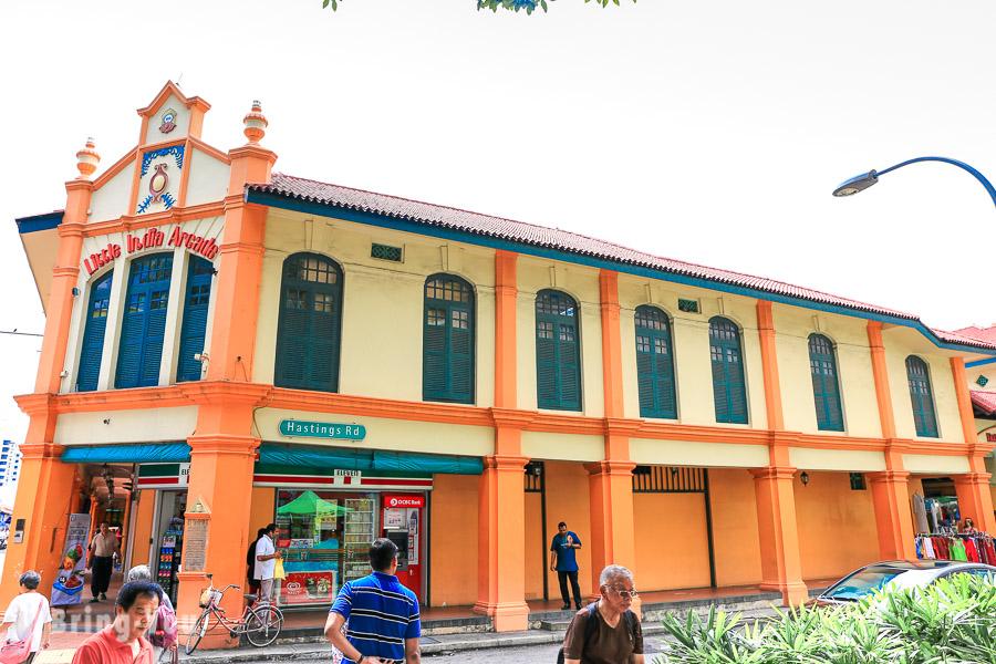 新加坡小印度拱廊