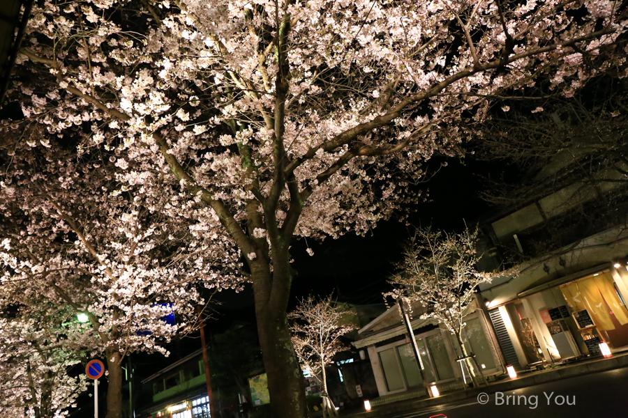 嵐山大街點燈