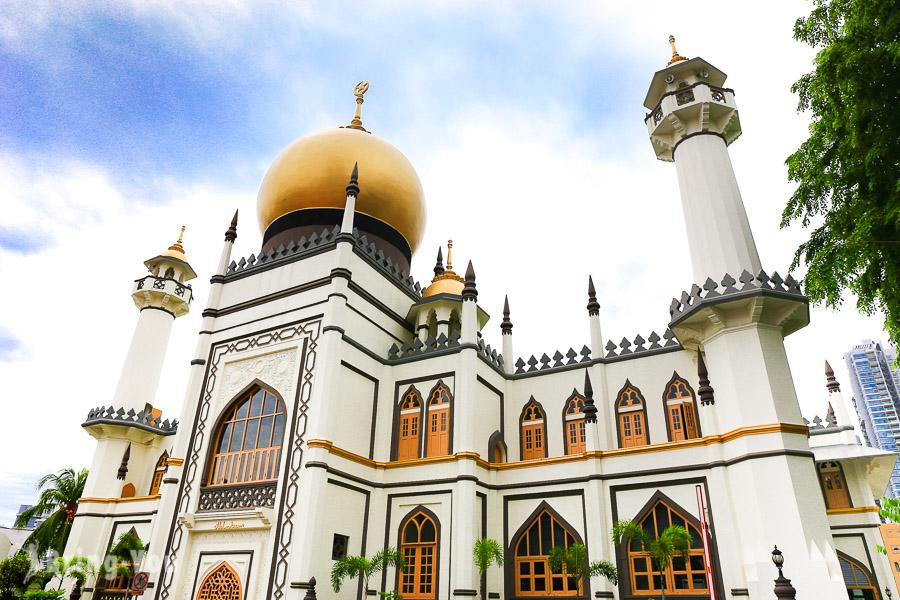 甘榜格南-新加坡阿拉伯區蘇丹回教堂