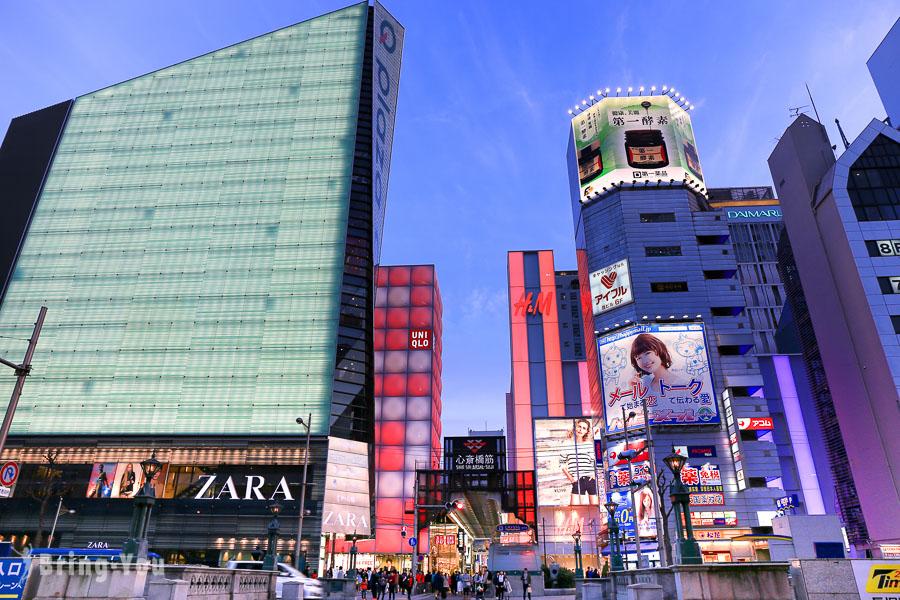 【心齋橋逛街購物】大阪心齋橋筋商店街必買藥妝&必吃美食攻略:好逛 Uniqlo、H&M、Zara 都在這