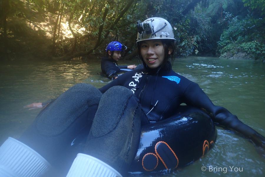 【紐西蘭 Waitomo Caves Black Water Rafting】親身暗黑螢火蟲洞世界 + 刺激過癮的黑水漂