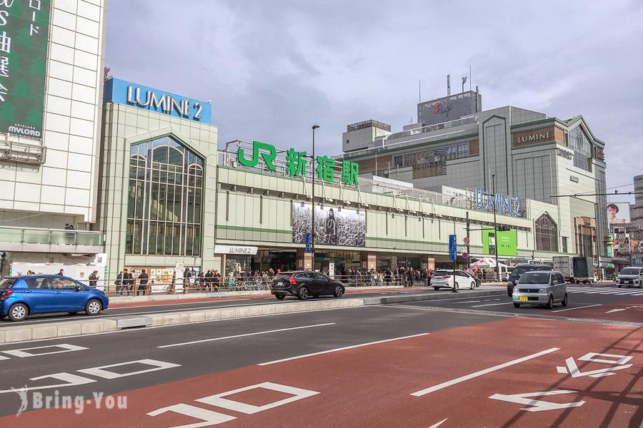 【東京新宿南口景點】年輕人逛街購物商場百貨、美食咖啡廳推薦,必逛高島屋、NEWoMan
