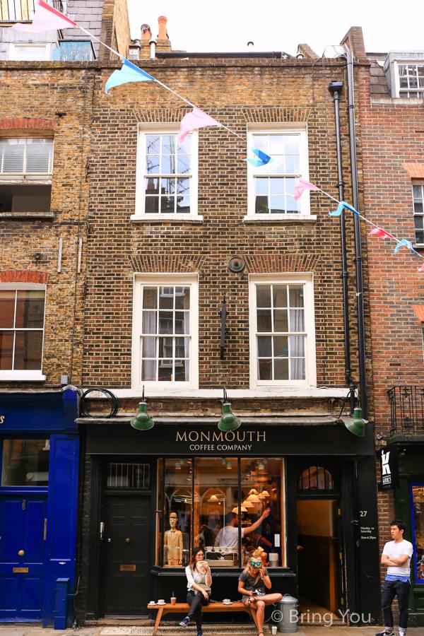 倫敦柯芬園咖啡廳Monmouth Coffee