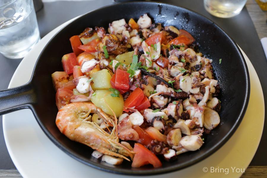 【南法必吃】尼斯美食餐廳推薦,馬賽魚湯、海鮮義大利麵、尼斯沙拉、Glacier Fenocchio冰淇淋