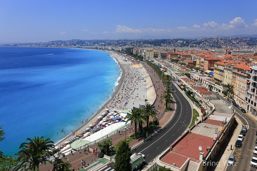 【法國蔚藍海岸自助】尼斯景點好好玩,無敵湛藍海景美翻了,含摩納哥旅遊全攻略(交通、景點、住宿推薦)