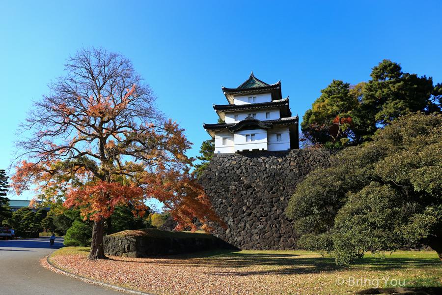 【東京皇居參觀攻略】日本天皇的家,網路預約、現場排隊方法、皇居外苑介紹