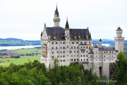 【德國交通】富森Füssen、慕尼黑來往新天鵝堡「邦票使用」、最佳拍照角度(含住宿推薦)