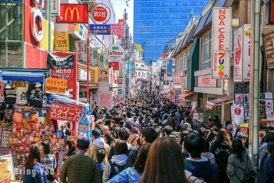 【原宿逛街地圖】原宿、竹下通好逛平價潮流服飾&美食攻略,東京年輕人的購物景點