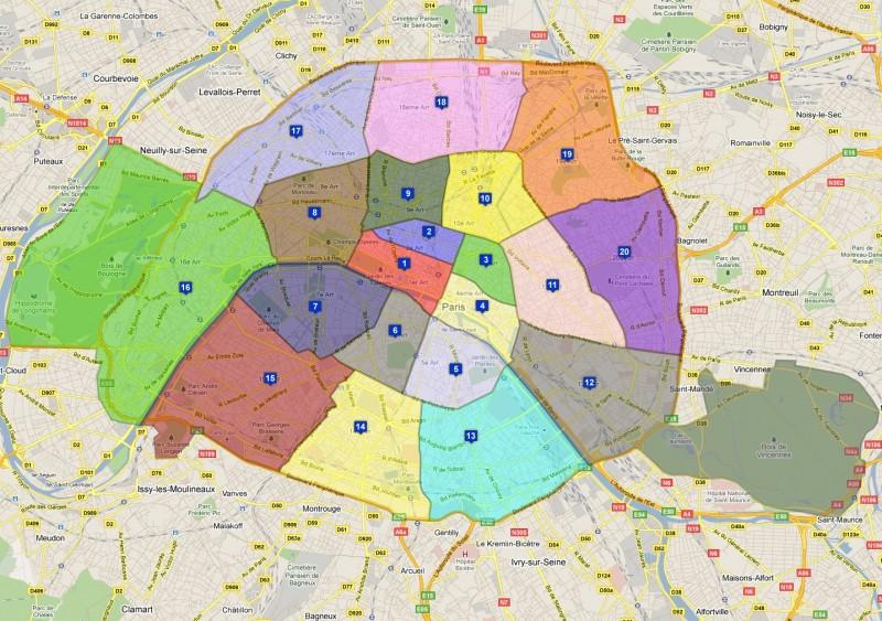 paris zone