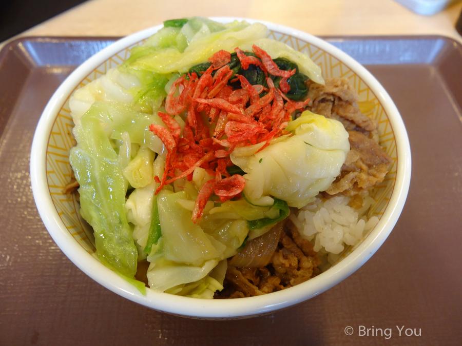 【日本大阪平價餐廳】すき家(SUKIYA),便宜飽餐一頓的牛丼飯(含菜單) – 海遊館店
