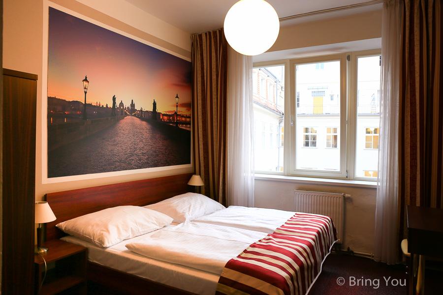 【捷克布拉格住宿】Hotel Rubicon,靠近市中心、購物區、觀光景點、餐廳、地鐵的青年旅館