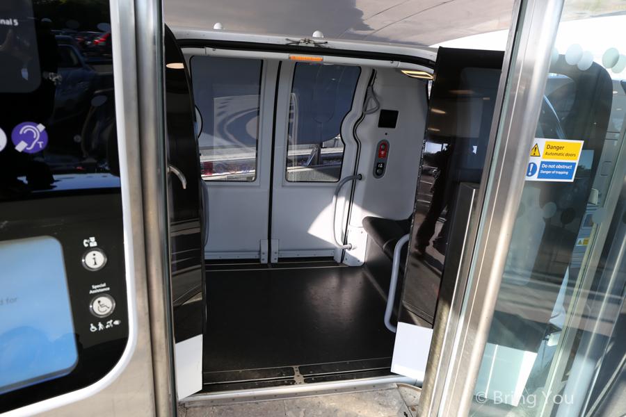 希斯洛機場個人捷運系統Heathrow POD
