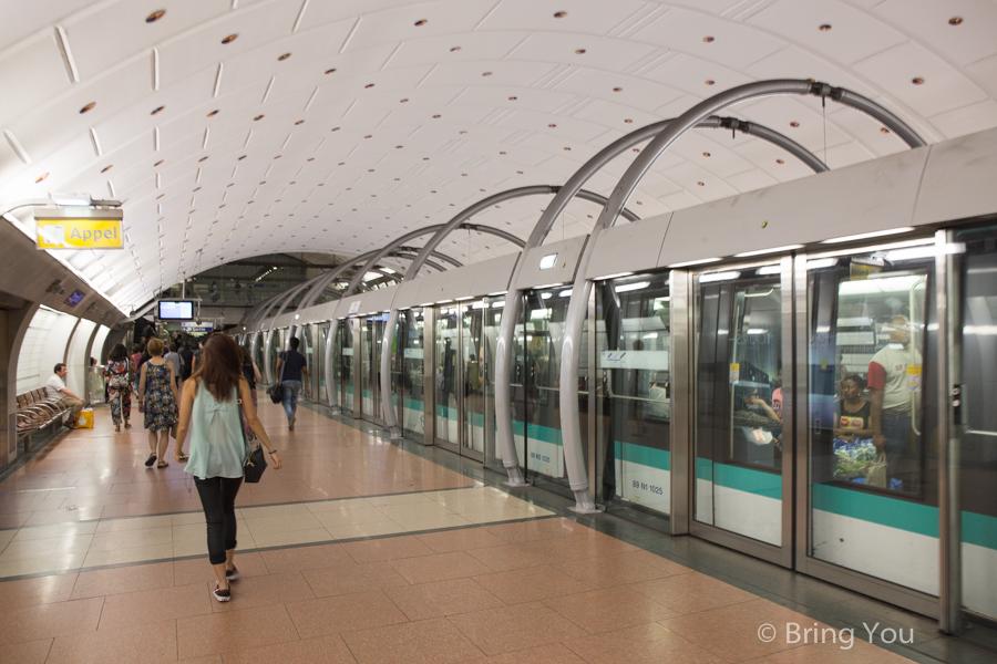 【搞懂巴黎交通就看這一篇】小巴黎交通方式介紹,如何搭乘RER前往大巴黎郊區景點