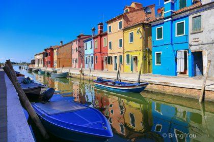 【彩色島 Burano】一輩子必去的絕美小鎮(威尼斯搭船跳島交通、好玩景點、美食攻略)