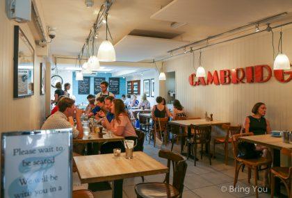 【英國劍橋美食餐廳】英式下午茶儘在「Fitzbillies」,劍橋大學學生喜愛的近百年咖啡廳
