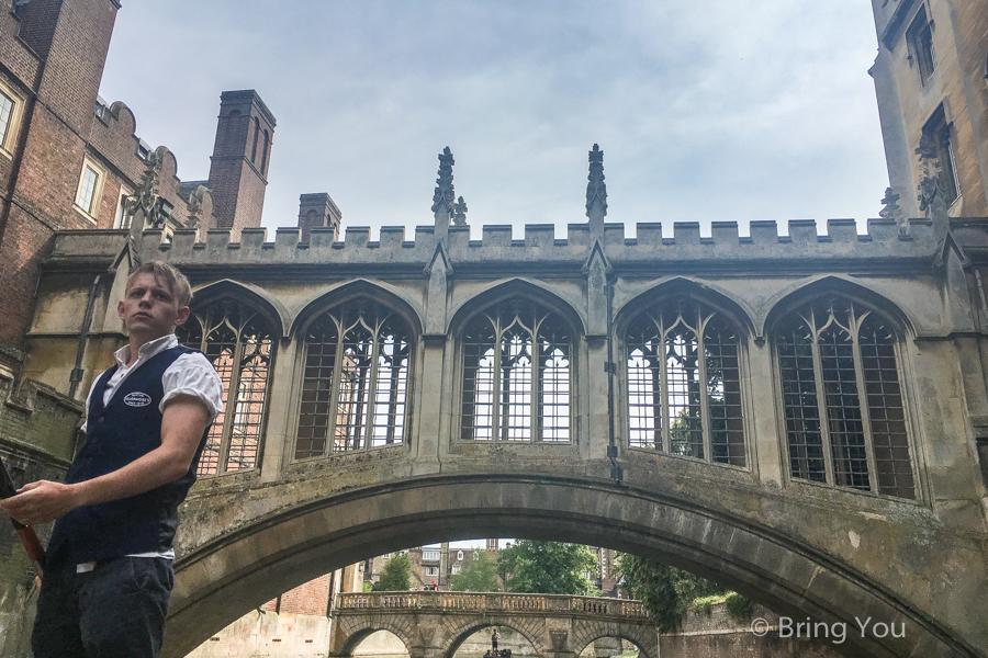 劍橋康河撐篙Punting in Cambridge