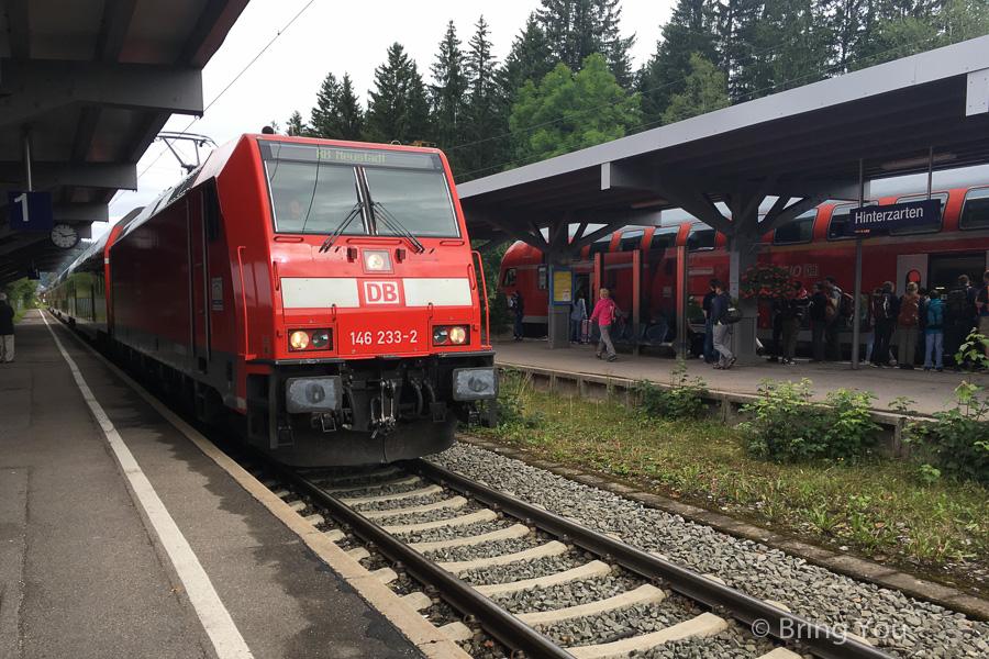 【歐洲跨國交通】Intercity Express, ICE 瑞士蘇黎世到德國黑森林交通 Zurich – Freiburg- Hinterzarten