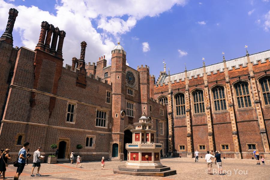 【英國倫敦景點】漢普頓宮:亨利八世宮廷歷史迷必訪的都鐸王朝風格王宮