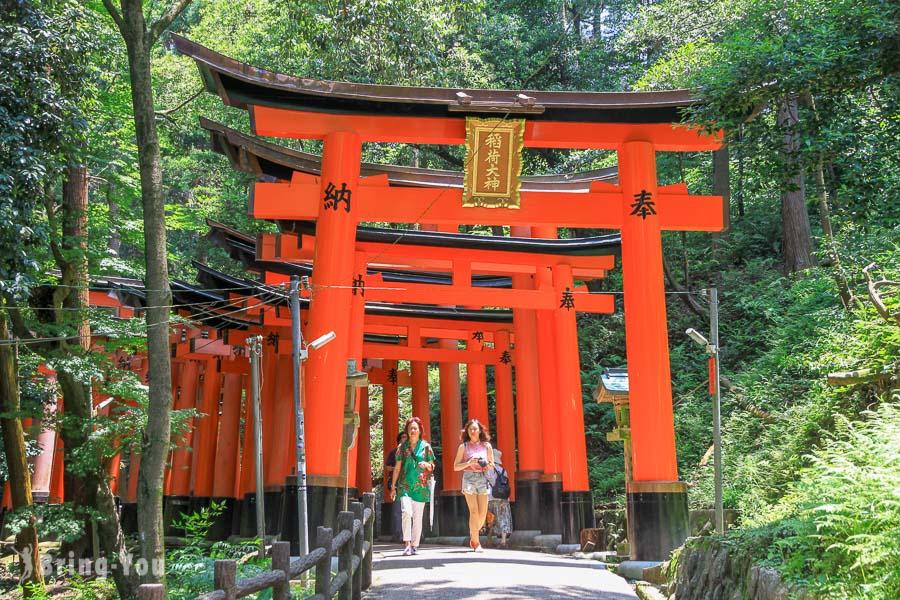 【京都旅遊景點】伏見稻荷大社:超壯觀千本鳥居參觀路線、交通攻略