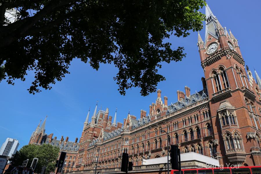 【倫敦國王十字車站週邊景點】King's Cross 九又四分之三月台、大英圖書館、Russel Square
