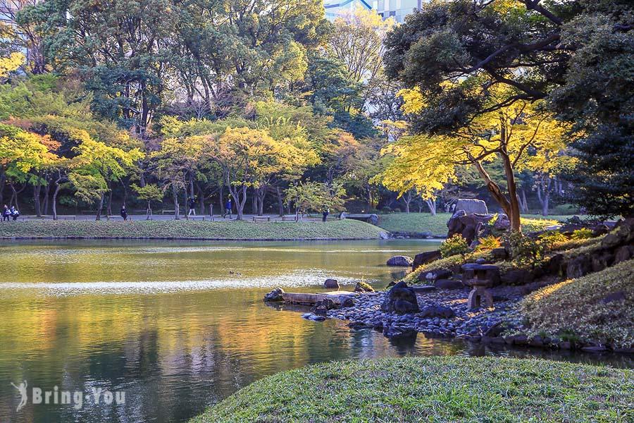 【東京賞楓賞櫻景點】小石川後樂園,來自中國明朝的儒家風庭園,楓葉也為之哀愁