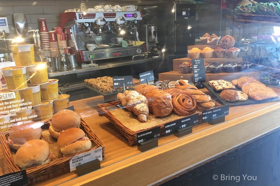 【倫敦平價連鎖咖啡館推薦】Costa、PRET A MANGER、CAFE NERO、PATISSERIE VALERIE