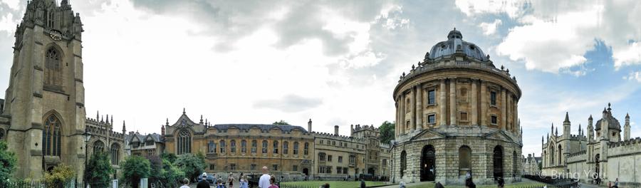 牛津一日遊,牛津景點