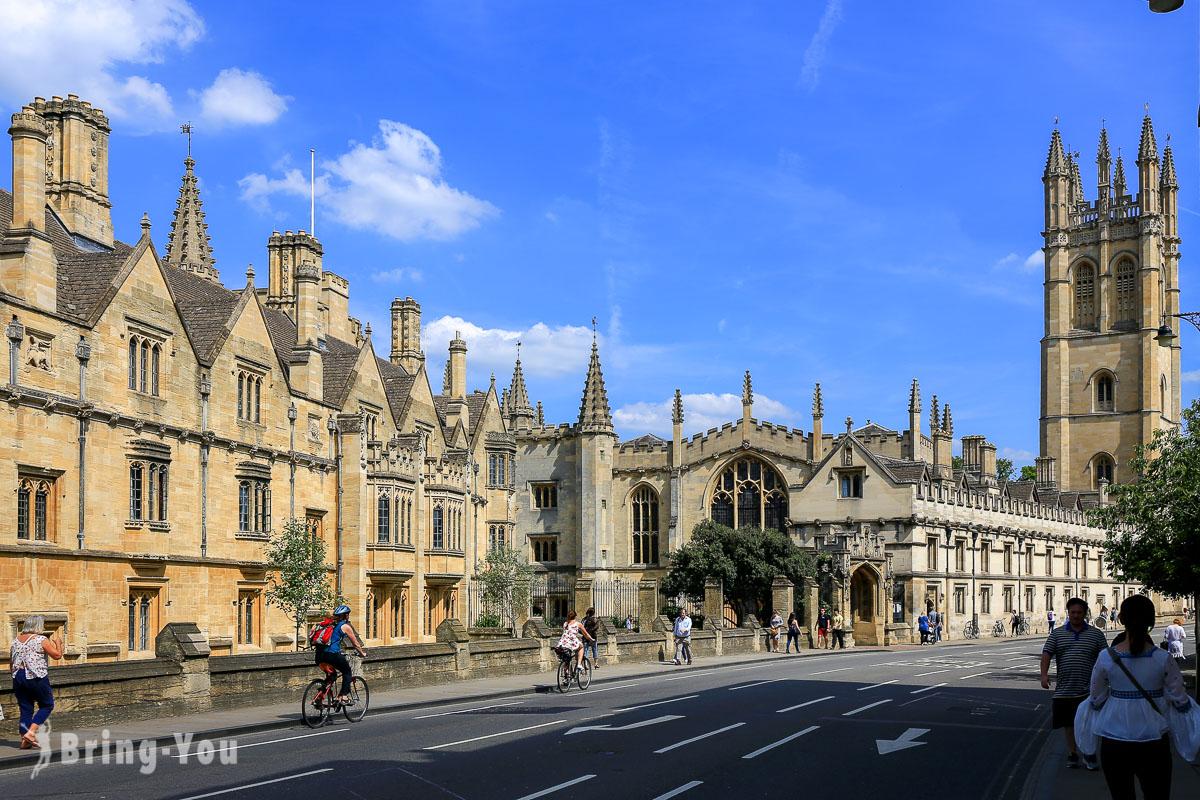【牛津一日遊】英國牛津景點巡禮:牛津大學之哈利波特與愛麗絲夢遊仙境遊記
