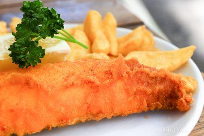 【英國倫敦|柯芬園】令人震驚的百年炸魚薯條店「Rock and Sole Plaice」