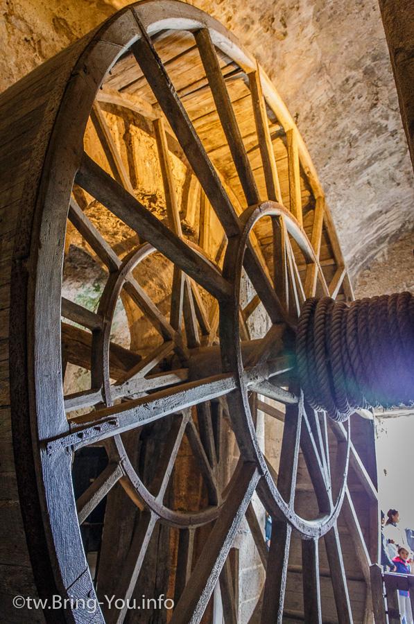 聖米歇爾-囚犯在滾輪