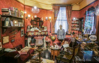 【倫敦餐廳|特拉法加廣場】偵探迷必訪的「夏洛克福爾摩斯酒吧(Sherlock Holmes Pub)」