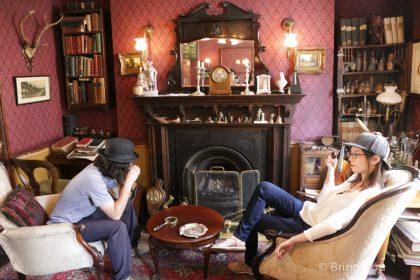 【倫敦必去景點|貝克街221b】卷福迷為之瘋狂的「福爾摩斯博物館」& 必買紀念品 & 美食