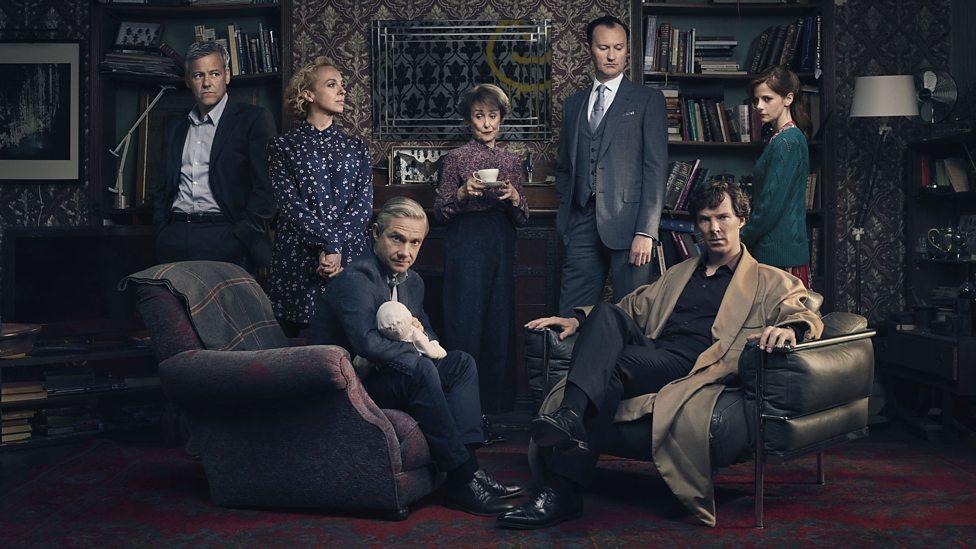 bbc Sherlock Series 4