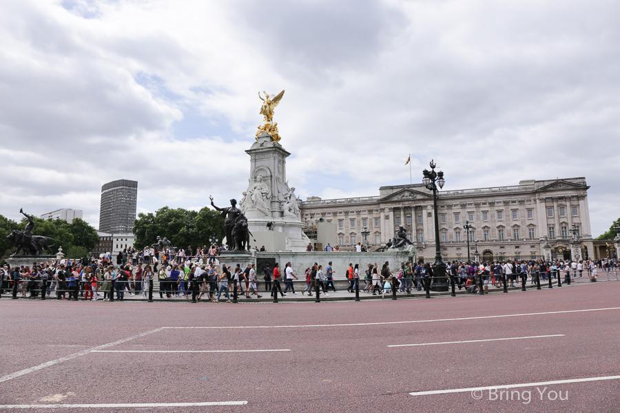 倫敦白金漢宮衛兵交接儀式
