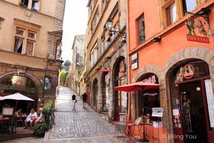 【法國旅遊 里昂一日遊景點】美食之都驚見紅燈區街頭妓女麵包車 + 水煙初體驗