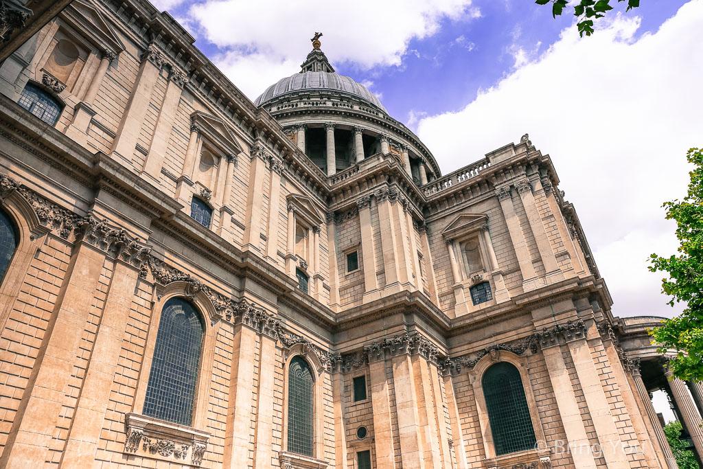 【英國倫敦】聖保羅教堂 St Paul's Cathedral,朝聖查爾斯王子和黛安娜王妃的婚禮舉辦地點