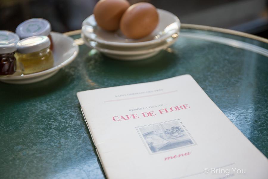 巴黎花神咖啡館 Cafe de Flore