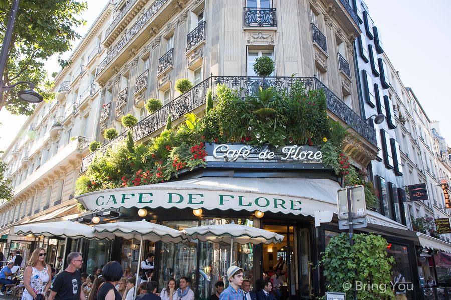 【法國巴黎】花神咖啡館 Cafe de Flore:左岸喝咖啡初體驗