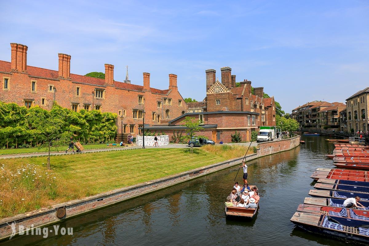 【英國劍橋必搭康河撐篙】徐志摩《再別康橋》的康河畔Punting in Cambridge – 含船夫價錢介紹