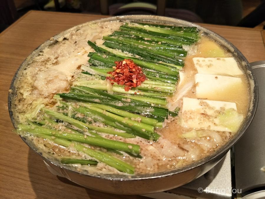 【九州福岡|博多特色美食】おおやま,博多鄉土料理 – もつ鍋(牛腸鍋)