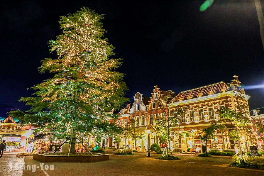 【九州好玩景點】豪斯登堡星光攻略 – 360度燦爛夜景 & 光之王國燈光秀
